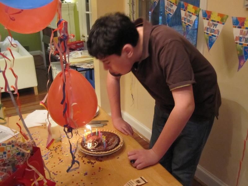 William's 13th birthday